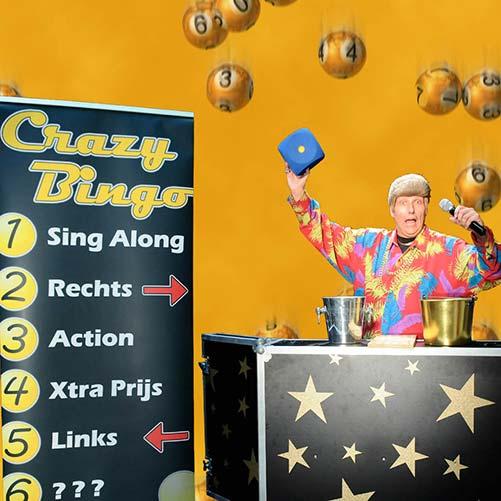Crazy Bingo Show Hessenkar Achterveld