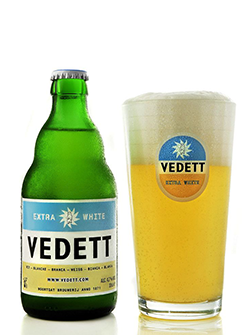 Bierkaart Vedett Extra White